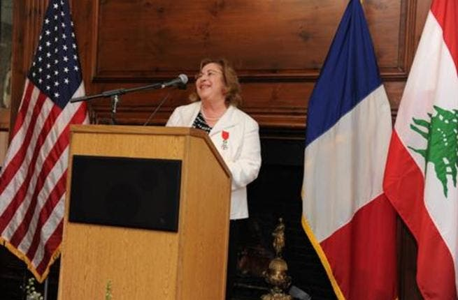 Leila Fawaz, winner of France's highest academic award. (Photos by Matthew Modoono)