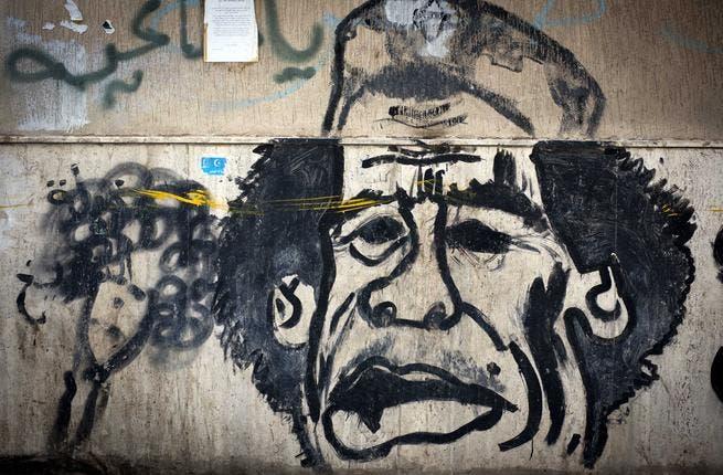 Vandalism is a growing issue in Libya's Benghazi.