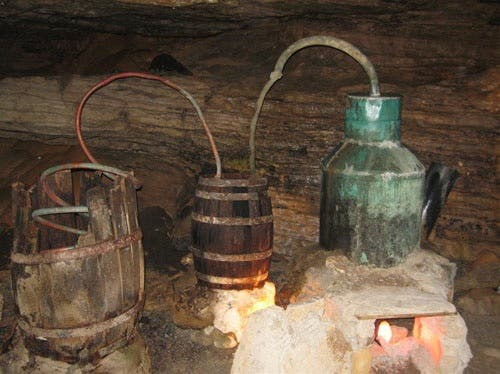 The homemade brew contained poisonous methanol (picture used for illustrative purposes only).