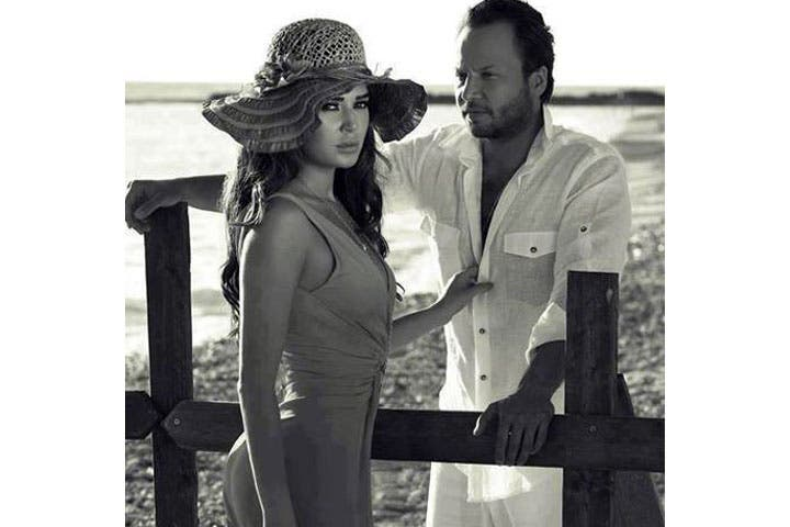 Maksim Khalil and Cyrine Abdelnour back together in new film next year. (Image: Facebook)