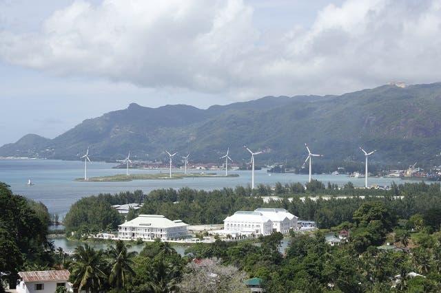 Masdar's Seychelles Wind Farm