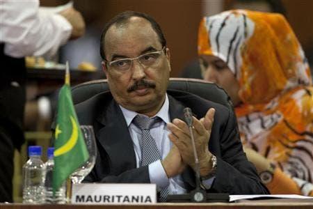 Mauritania's leader