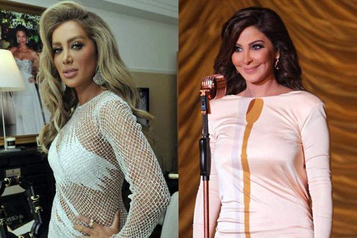 Maya Diab stands up to co-patriot songstress Elissa. (Image: Facebook)
