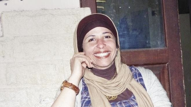 Mervat Mousa plans to take her attacker to court (picture courtesy of El Watan News).