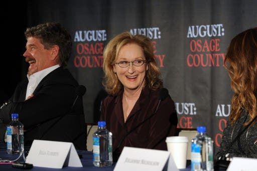 Meryl Streep: extremely talented AND humble. (AFP)