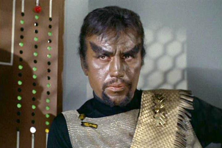 Michael Ansara as Star Trek's original Klingon. (Image: Startrek.com)