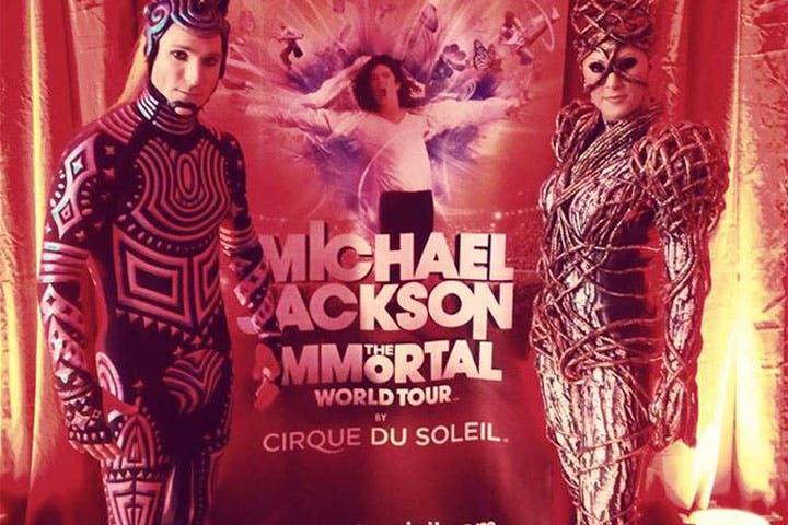 The Immortal Michael Jackson in Dubai (Image: Facebook)