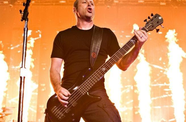 Nickelback bassist Mike Kroeger.