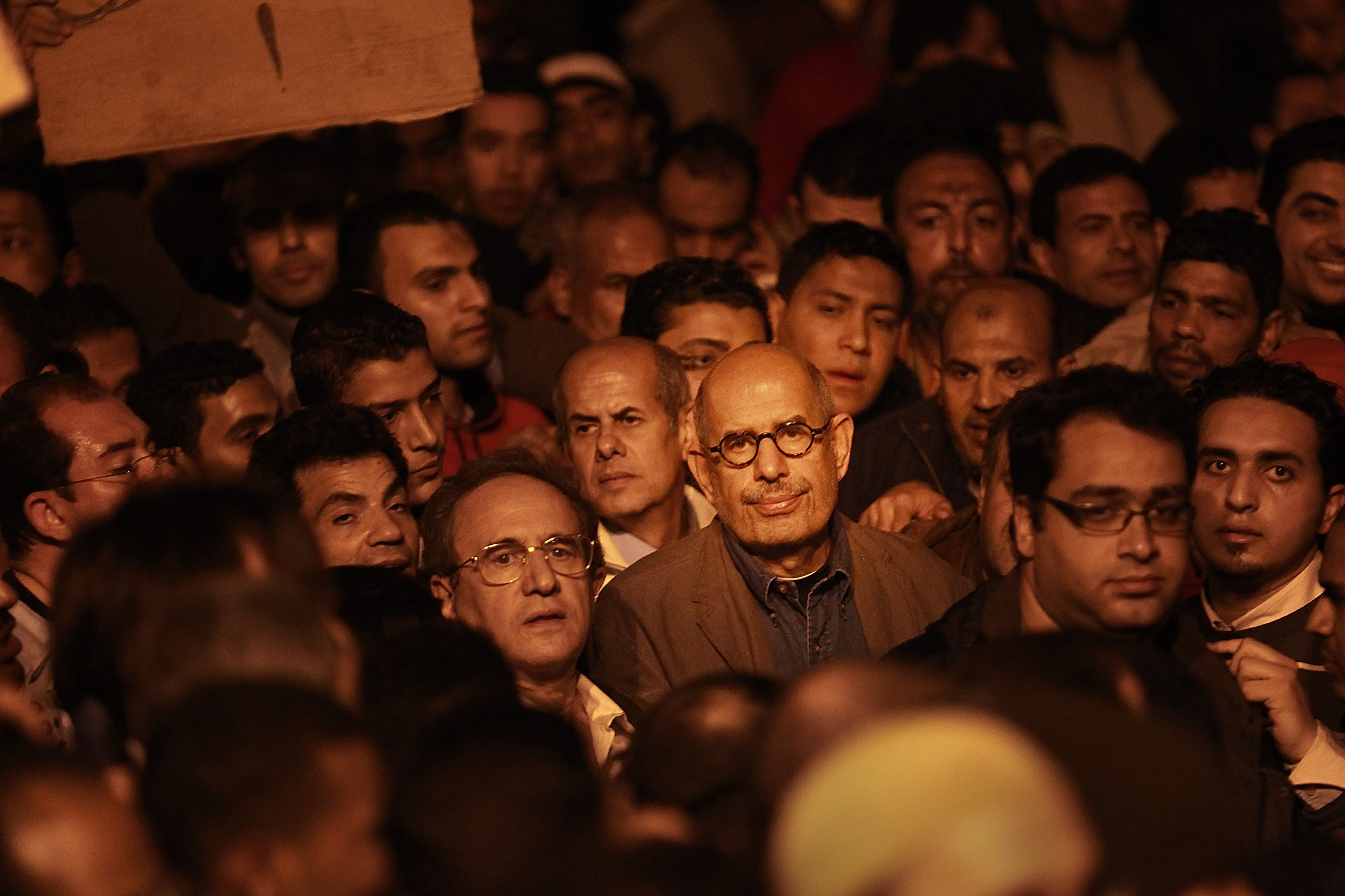 All eyes are on Mohammad Al Baradei as his decision could prove to be a crucial turning point for Egypt's political future.