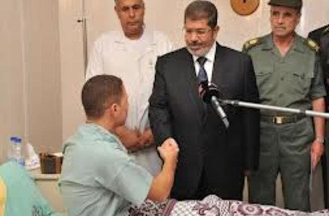 Mohammed Morsi wants to deal harshly with those responsible in the Sinai Crisis.