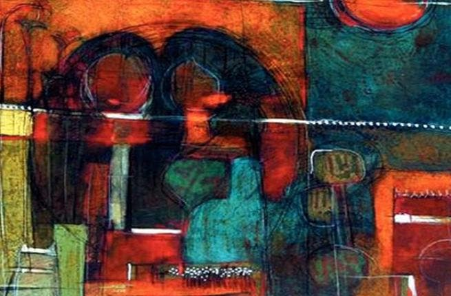 Saudi artist Mohammed Farea maintains his classical style of painting untouched by the rapid changes of modern time.