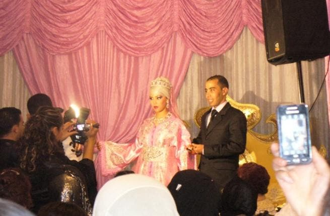 Doing it the traditional way: one couple get married in Morocco