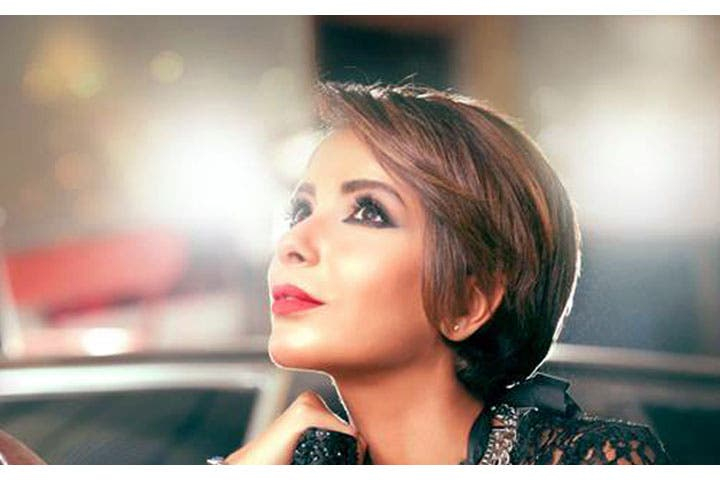 One of the new and 'different' pictures Mona Zaki was criticized for. (Image: Facebook)