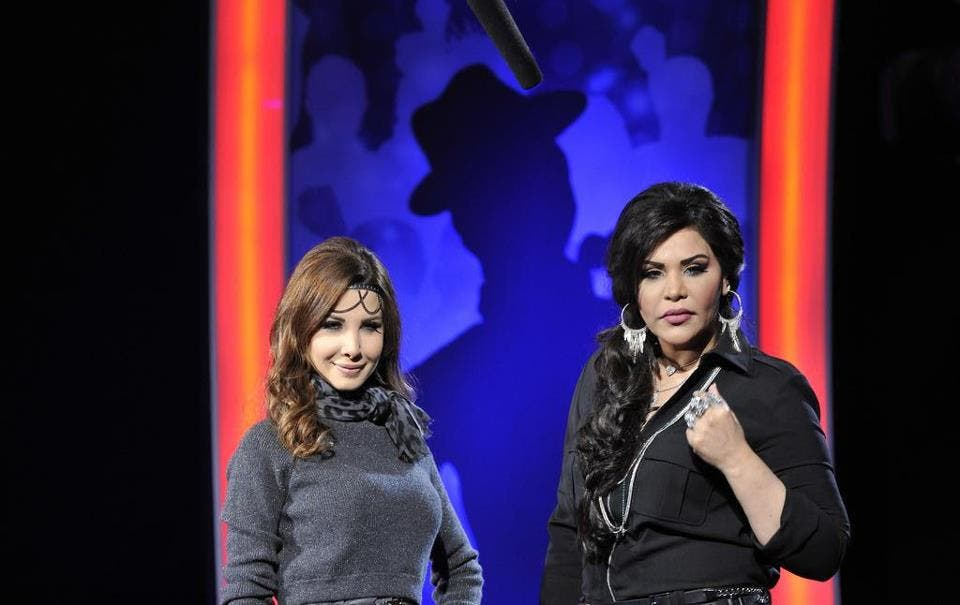 Audiences will be watching to see if Nancy and Ahlam can play nice together on Arab Idol Season 2. (image courtesy of Listen Arabic)