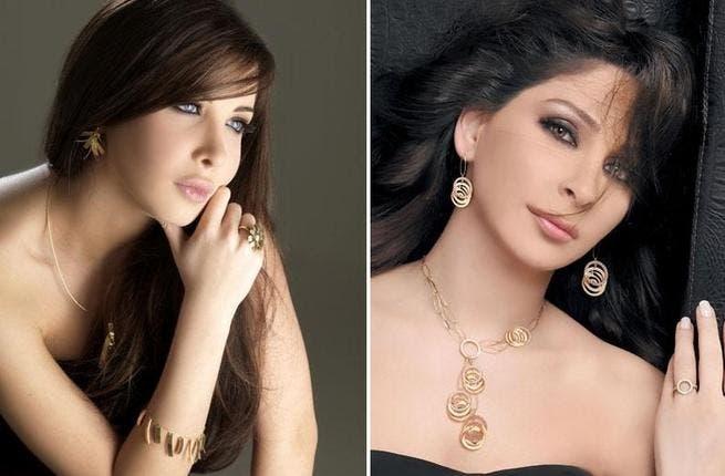 Nancy Ajram and Elissa