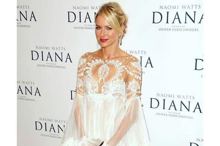 Naomi Watts plays Princess Diana in the controversial flick (Image: Facebook)