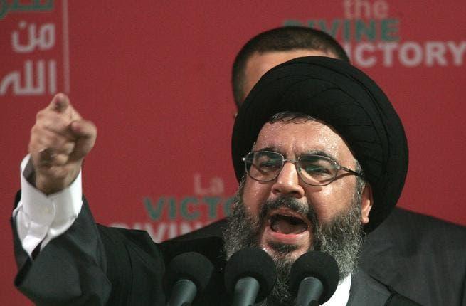 Hassan Nasrallah, leader of Hezbollah.