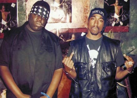 Inspiring a generation? Saudi Arabia has a burgeoning rap scene, with many kids who don't even speak English becoming fans of hip-hop legends Biggie and Tupac. (Image courtesy of WestLord.com)