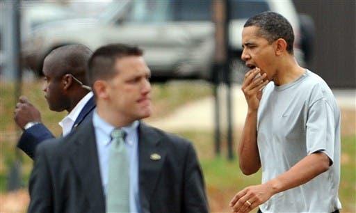 President Obama... no longer invincible.