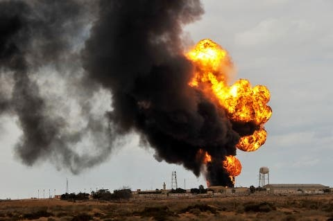 An oil pipeline in Yemen has been blown up, causing operation to be suspended