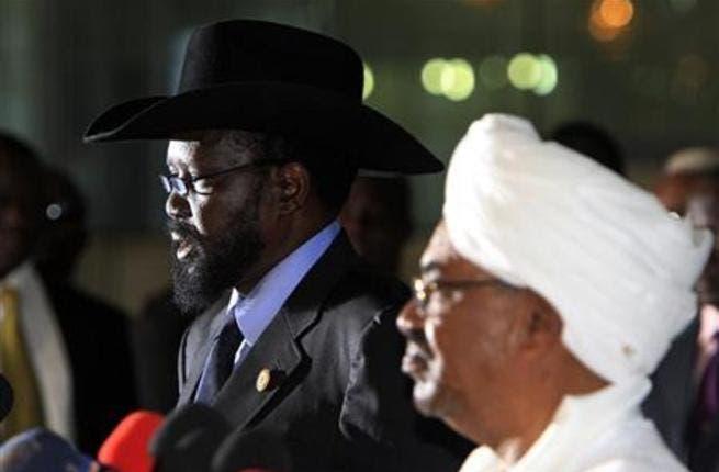 Omar al Bashir(R) and Salva Kiir