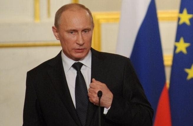 Pot calling the kettle black? Russian president, Vladimir Putin