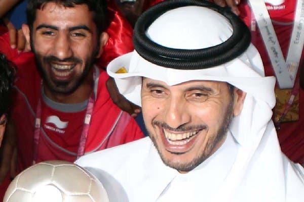 Abdullah bin Nasser bin Khalifa Al Thani, new Qatari prime minister is seen on May 4. (AFP)