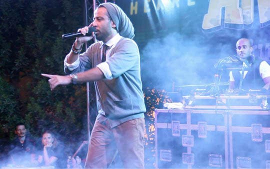 Arabs Got Talent host and rapper