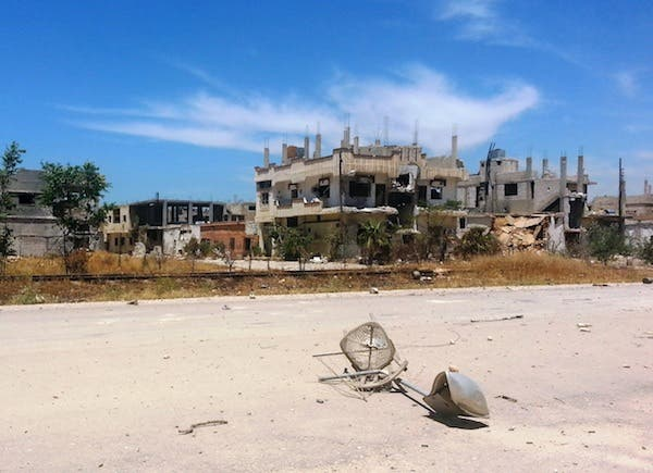 A view of damaged buildings in Qusair, taken in the aftermath of the heavy battles seen in the town over the last week. AFP Photo
