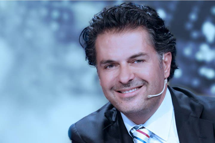 Safe and sound: Ragheb Alama was in Beirut when an explosion near his house occurred. (Image: Facebook)