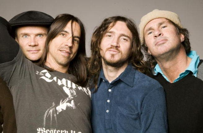 The Red Hot Chili Peppers.