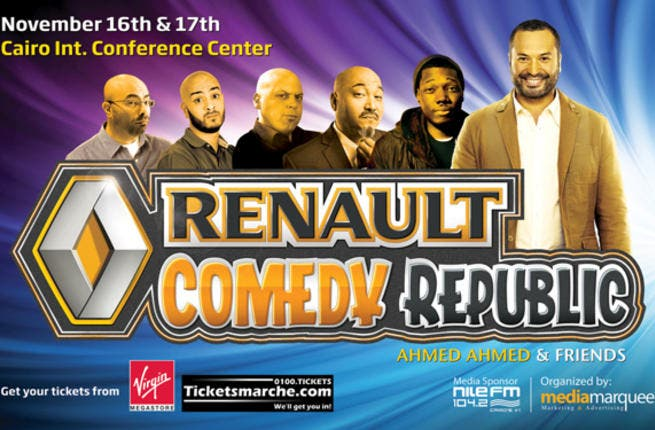 Renault Comedy Republic poster.