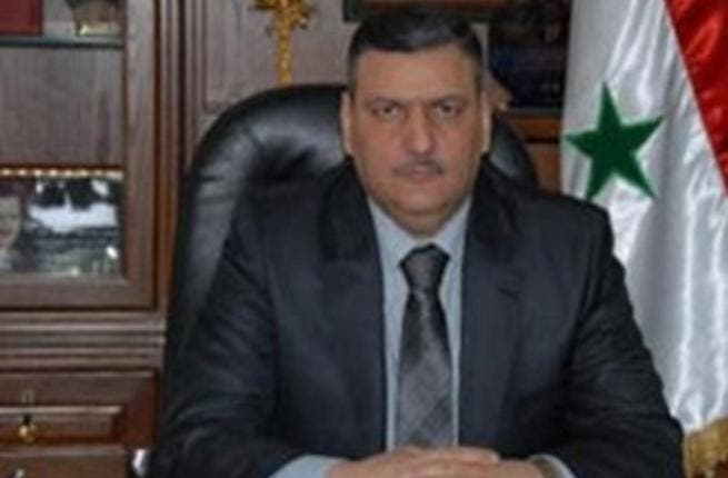 The now ex-prime minister of Syria: Riyad Hijab