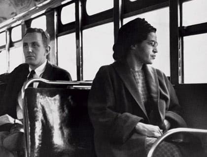 Rosa Parks in 1960's US (I