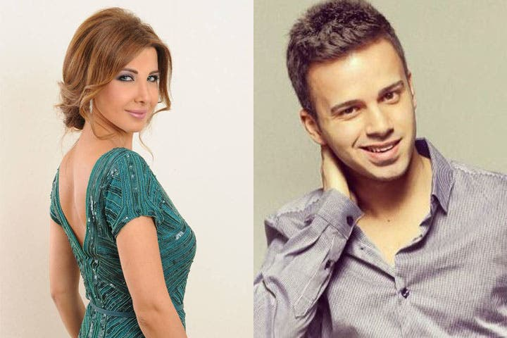 Saif Shawaf won the unique Nancy Ajram competition. (Image: Facebook)