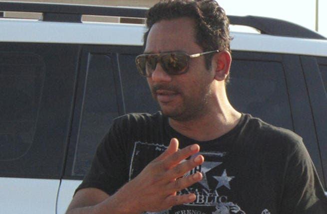 Dubai based events manager, Sameer Khan.