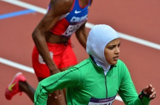 Saudi Olympian, Sarah Attar