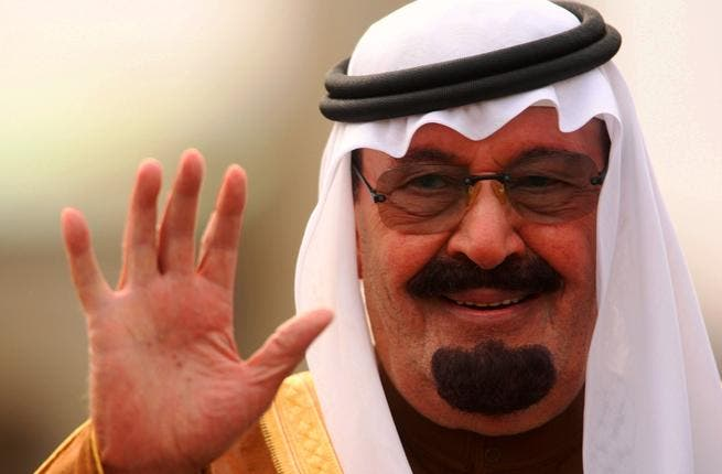 King Abdulla, here waving his charitable hand, is collecting money from the Kingdom- as well as from his own good bounty- to offer the suffering Somalis.