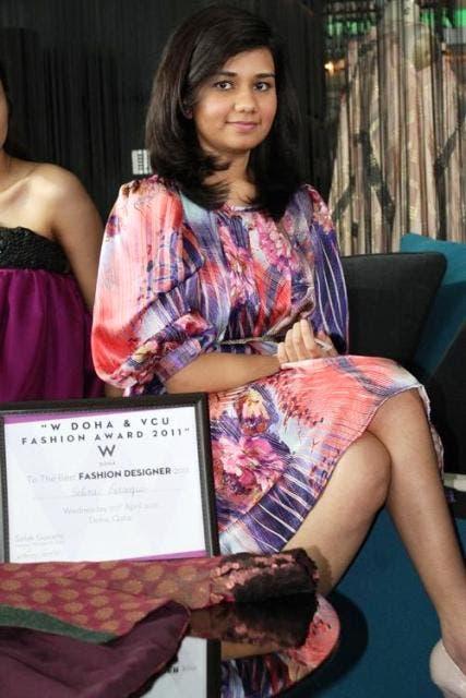 The winner, Selina Farooqui