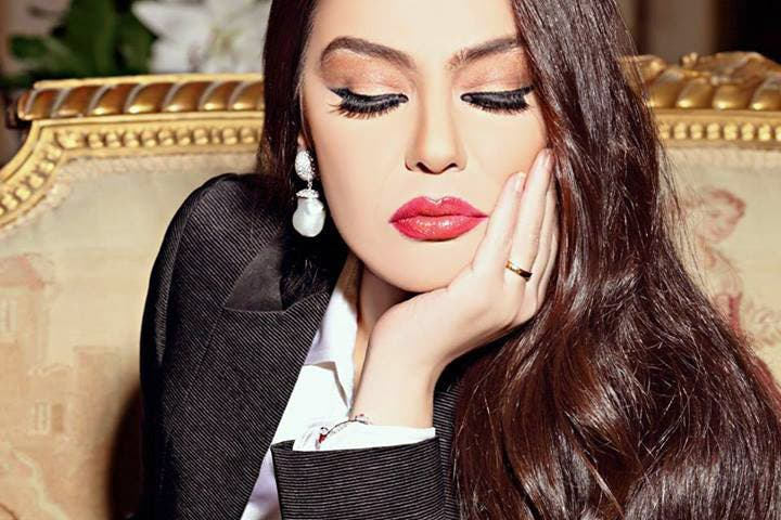 "Sherihan said that she will filming scenes for her upcoming drama ""Domou' Al Cinderella"" in the very near future. (Image: Facebook)"