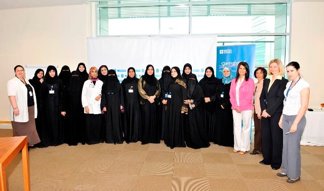 HMC Hospitality Staff who attended the workshop along with Trainer and British Council officials at Medical City Club Hotel