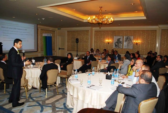 The conference discussed the latest trends and issues facing the MENA banking industry