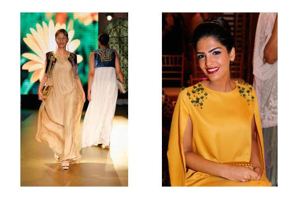 Sulaisila Center for Art and Heritage, a division of Al-Faisaliya Women Welfare Society, organized a charity fashion show and auction showcasing 44 thobes.
