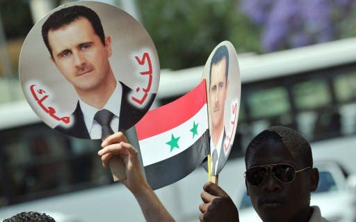Damascus has pledged it will go ahead with the vote despite the war being waged across the country. (AFP/File)
