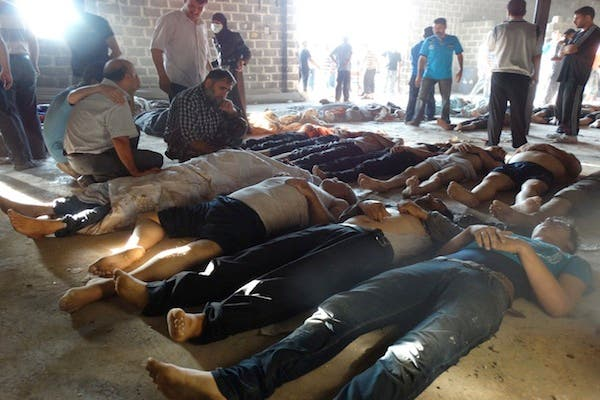 The Free Syrian army alleges that the Syrian regime has transferred enough chemical weapons to Lebanon, via Hezbollah, to