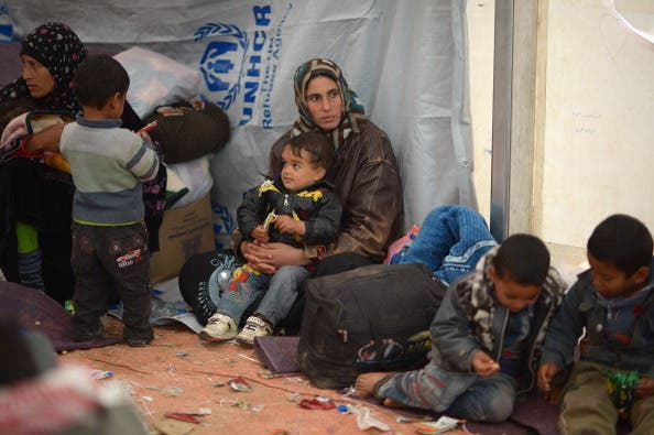 New Syrian Refugees arrive at a refugee camp in Northern Jordan (Getty Images)