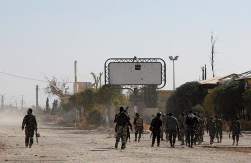 Reports from the ground suggest that the opposition is retreating from Yabroud. (AFP/File)