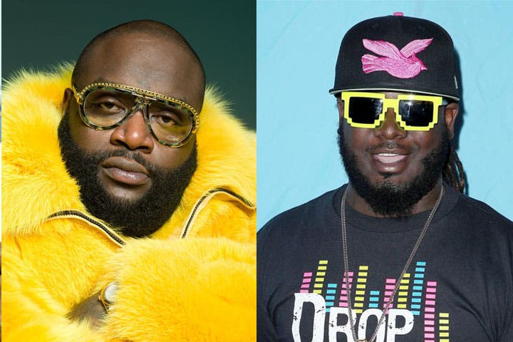 Rick Ro$$ and T-Pain will be rappin' it up October 4th in the UAE