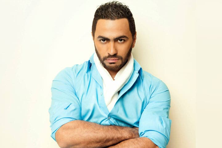 Tamer Hosny's not too happy about the Palestine concert allegations. (Image: Facebook)