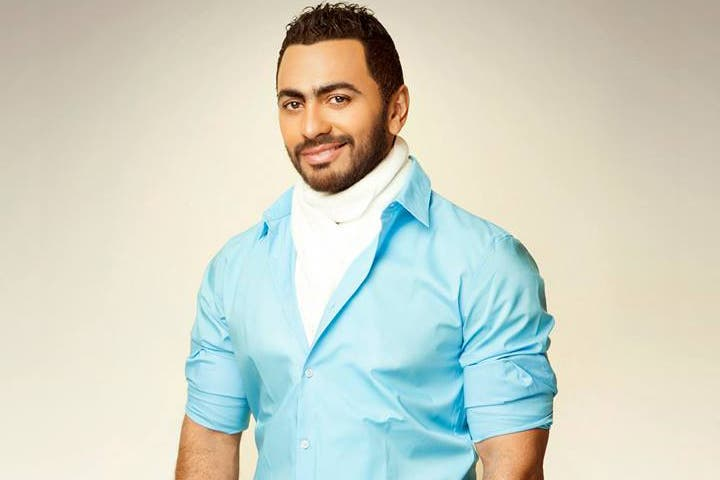 Tamer Hosny is shocked but no unused to the made up malarkey about his career. (Image: Facebook)